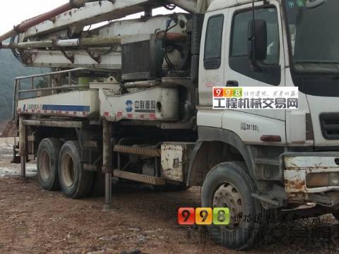 出售07年中联五十铃37米泵车