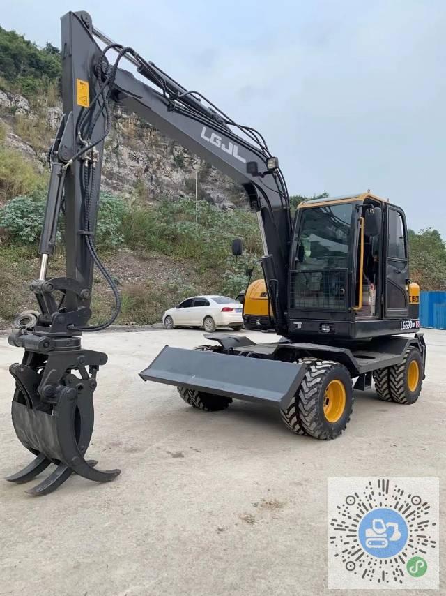 转让山东临工2019年690轮式挖掘机