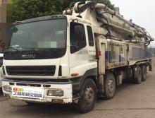 转让13年出厂中联五十铃52米泵车(6节臂大排量)