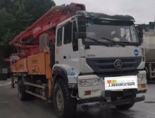 转让精品2018年5月出厂响箭斯太尔37米泵车