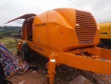 14年准新中联6013-90电拖泵