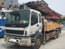 终端车主直售12年出厂三一五十铃46米泵车(3桥叉腿北方车)