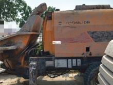 出售2011年中联6016柴油拖泵