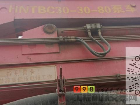 出售2015年东风农建30米泵车