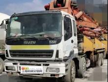 出售07年出厂三一五十铃45米泵车(国三绿标)