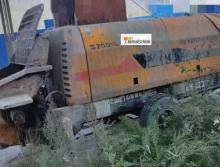 车主出售11年出厂中联6016-110电拖泵