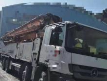 终端出售2013年4月出厂中联奔驰叉腿52米(双主油泵.大排量)