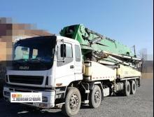 出售2010年中集五十铃48米泵车