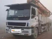 精品出售11年11月中联五十铃47米泵车
