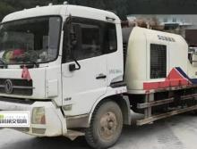 出售11年中联9014车载泵