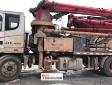 精品出售17年三一23米泵车(国四)