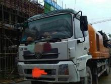 42万出售国四14年底中联10018车载泵,正泵时间2100小时,手续齐全包过户