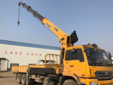 徐工2017年14吨随车吊