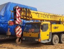 长江2009年36吨吊车