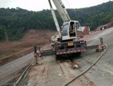 中联2008年20吨吊车