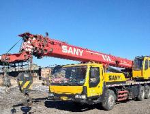 三一2010年25吨吊车