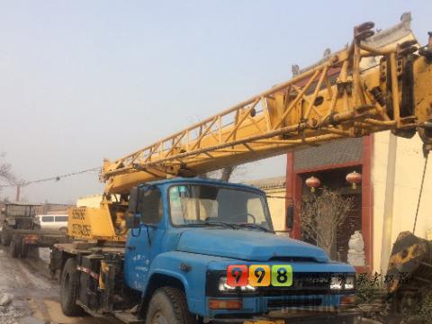 徐工2011年8吨吊车