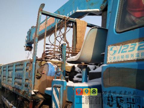 东风随车吊2014年12吨吊车