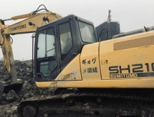 住友2012年210A5挖掘机