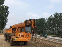 济宁龙锋牌2015年10吨吊车
