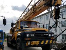 柳工2009年8吨吊车