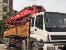 出售09年三一五十铃46米四桥叉脚泵车工地看车,手续齐全过户快。