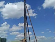 转让2009八达DD-75柴油锤打桩机