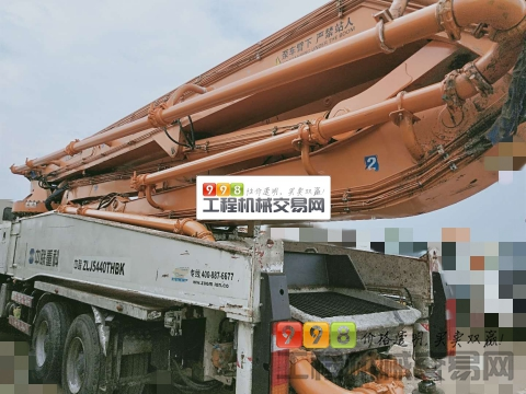 2014年出厂中联奔驰56米法务车(支持分期)