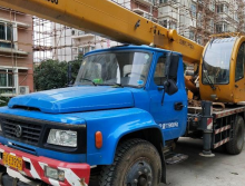 转让东岳2016年8吨吊车