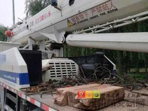 转让中联重科2012年25吨吊车