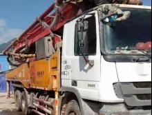 转让2013年三一奔驰47米泵车(C8三桥叉腿)
