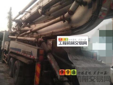 车主转让07年中联奔驰40米泵车(国三绿标)