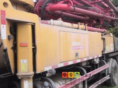 转让精品2018年10月三一37米泵车(4万方)