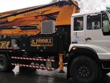 转让2019年出厂响箭斯太尔37米泵车