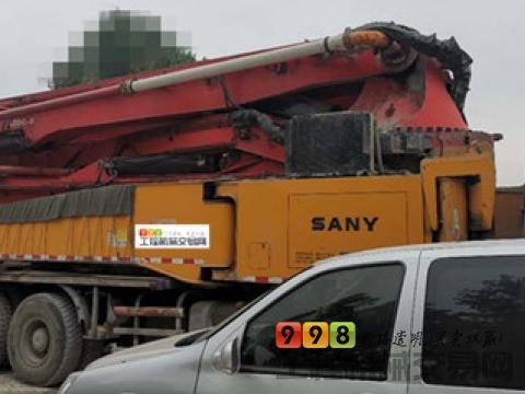 车主精品出售13年三一奔驰52米泵车(6节臂)
