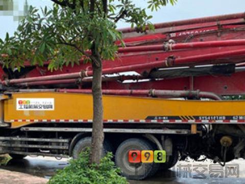 精品转让13年12月三一五十铃50米泵车(6节臂一手车)