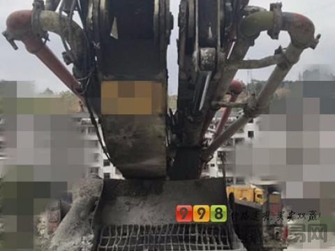 出售14年差几天中联五十铃49米泵车(一手车6节臂)