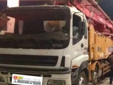 极品出售14年4月份徐工五十铃52米泵车(方量不多)
