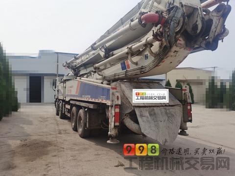 出售精品12年出厂中联奔驰56米泵车