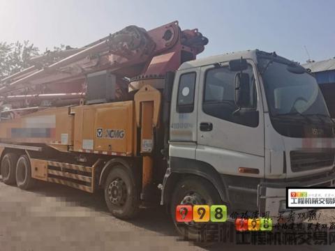 终端出售2012年出厂徐工五十铃叉腿49米(六节臂.准新车)