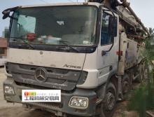 终端精品直售:12年出厂中联奔驰叉腿50米泵车(六节臂)