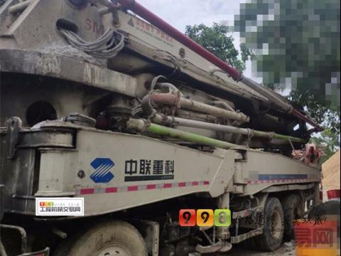 出售08年中联沃尔沃47米泵车