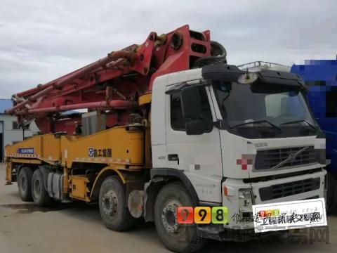 出售北方精品2009年徐工沃尔沃48米泵车