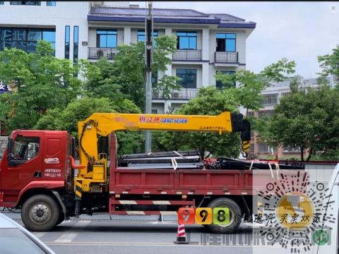 转让东风2017年12吨随车吊