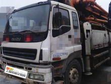 精品转让13年出厂中联五十铃47米泵车
