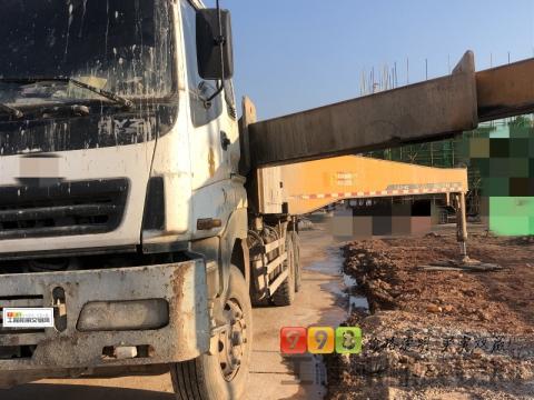 出售2012年出厂三一五十铃46米泵车