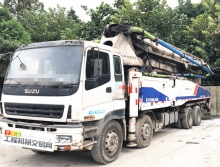 精品出售11年12月中联五十铃52米泵车