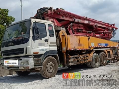 裸车终端出售13年徐工五十铃46米泵车