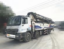 精品出售11年12月中联奔驰52米泵车【6节臂  双油泵  大排量】