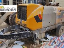 车主转让10年出厂中联8018.195柴油拖泵